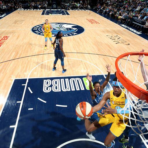 Latest WNBA standings