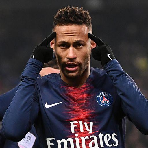 Neymar left out of PSG opener