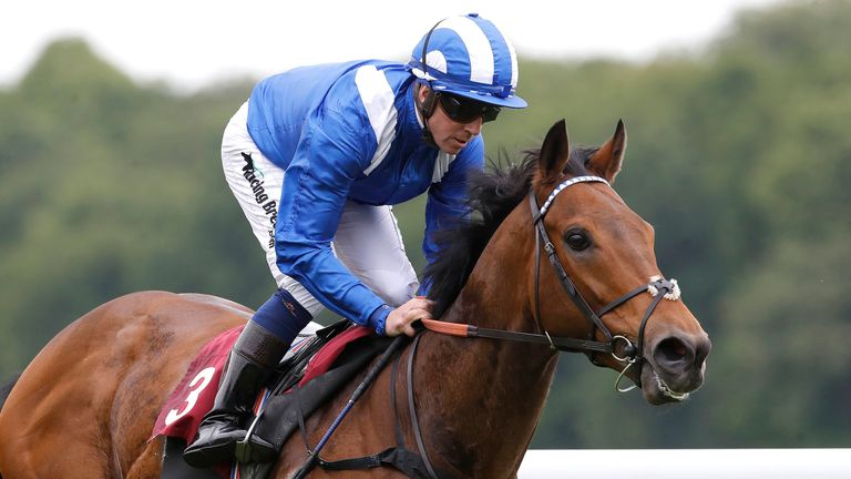 Battaash and Jim Crowley are clear at Haydock