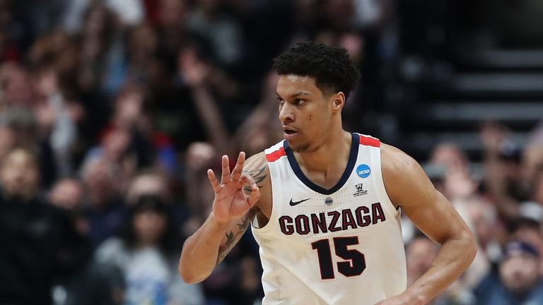 Brandon Clarke in action for Gonzaga