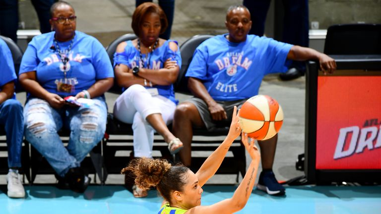 WNBA: Dallas Wings beat Atlanta Dream to claim first win of season | NBA News |