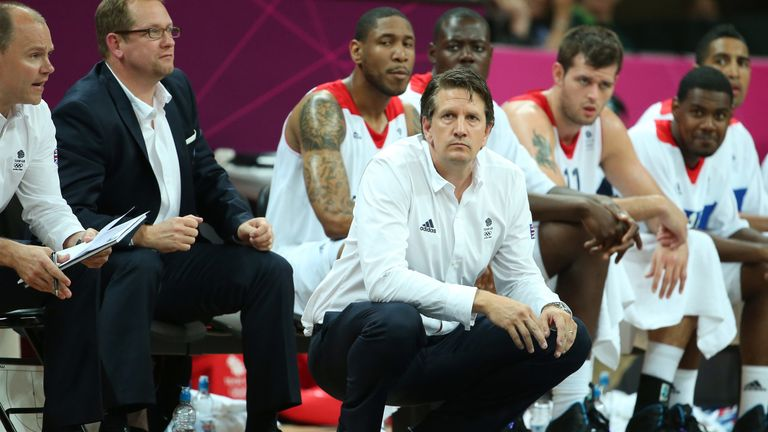 Chris Finch coached Team GB at the London Olympics