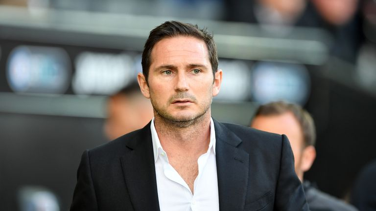 Frank Lampard says the Derby players are excited for their play-off decider on Sunday