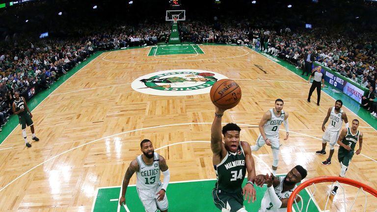 Kawhi Leonard match-up with Giannis Antetokounmpo headlines Eastern Conference Finals | NBA News |
