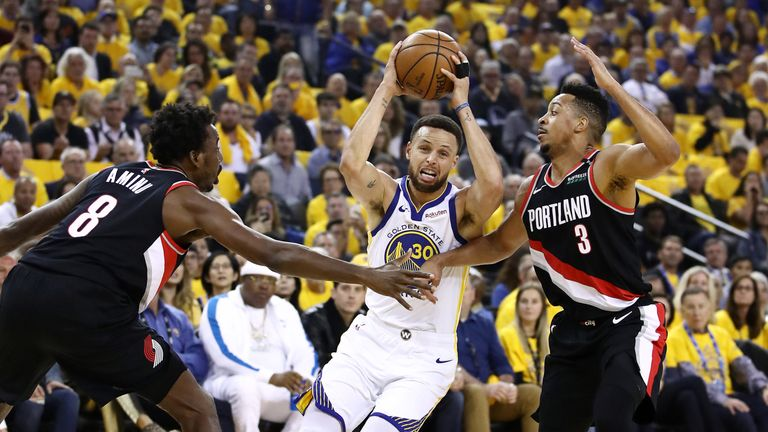 warriors-trail blazers - photo #40