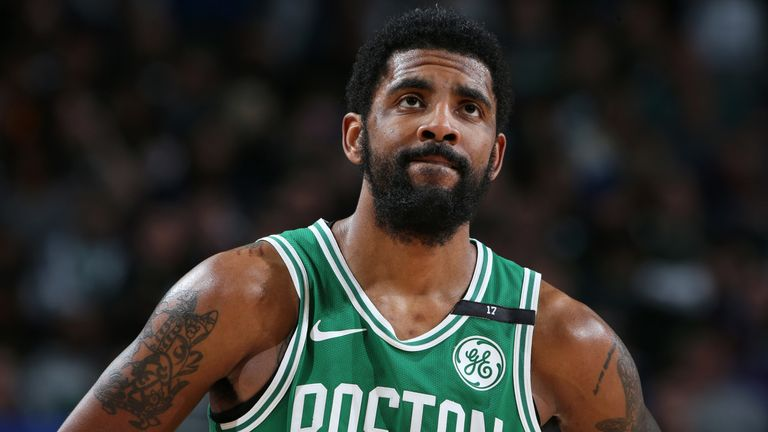 Kyrie Irving reflects on the end of the Boston Celtics season
