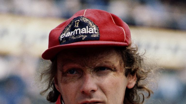 Niki Lauda pictured at the 1978 British Grand Prix