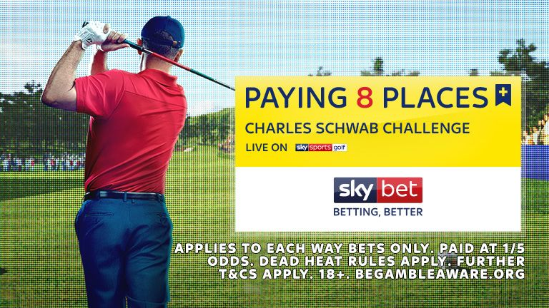 Paying 8 Places - Charles Schwab Challenge