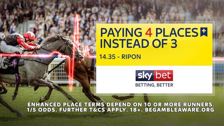 Paying 4 Places - 14:35 Ripon