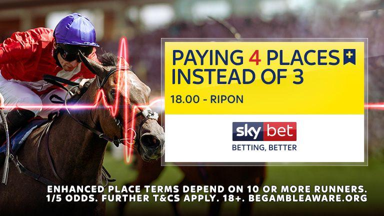 Paying 4 Places - 18:00 Ripon