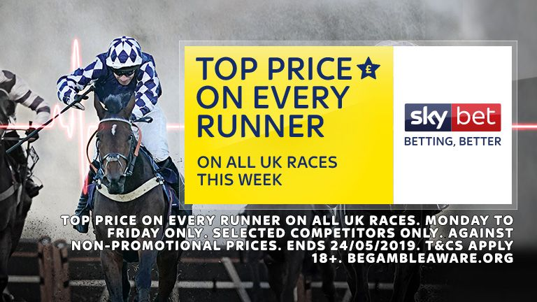 Top Price Every Runner - 20 -24 May on all UK races this week