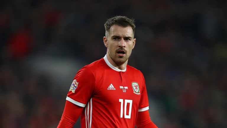 Aaron Ramsey has not travelled with the Wales squad to Slovakia