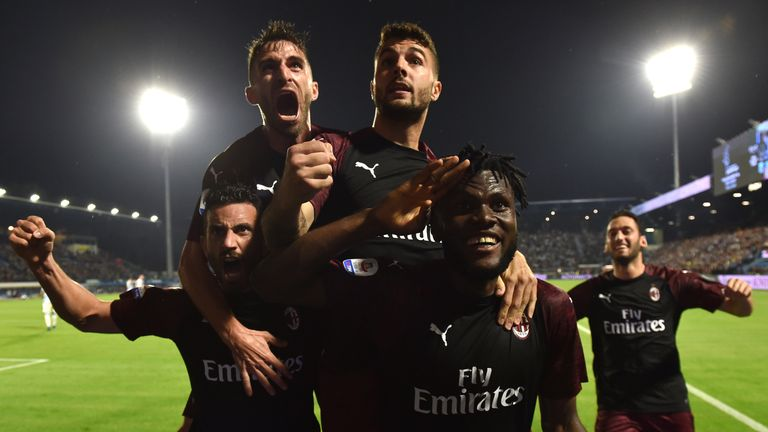AC Milan beat Spal but miss out on Champions League football
