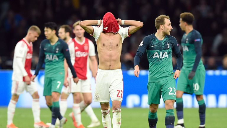 Ajax were left crushed after the defeat
