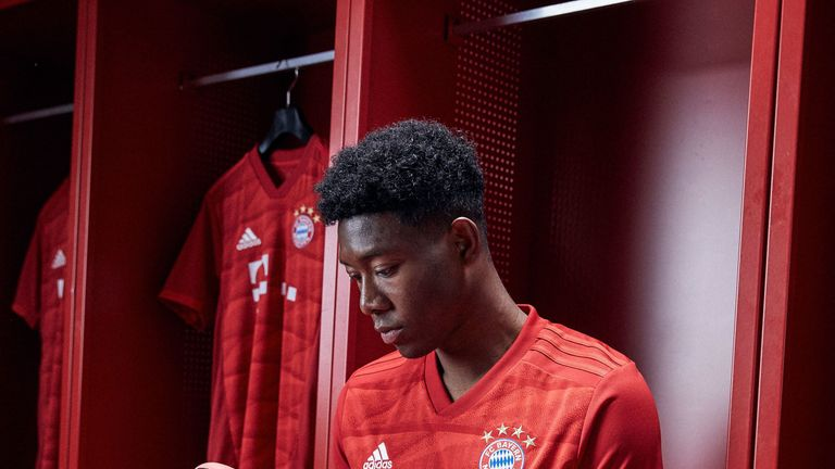 Bayern's new kit takes inspiration from the Allianz Arena