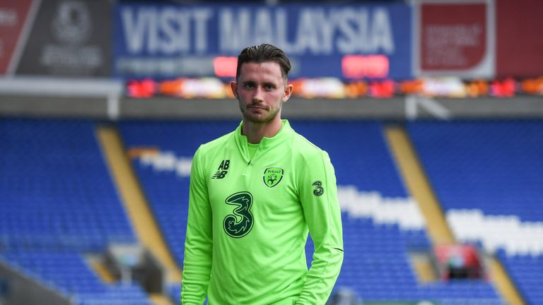 Alan Browne is yet to make a competitive appearance for Republic of Ireland