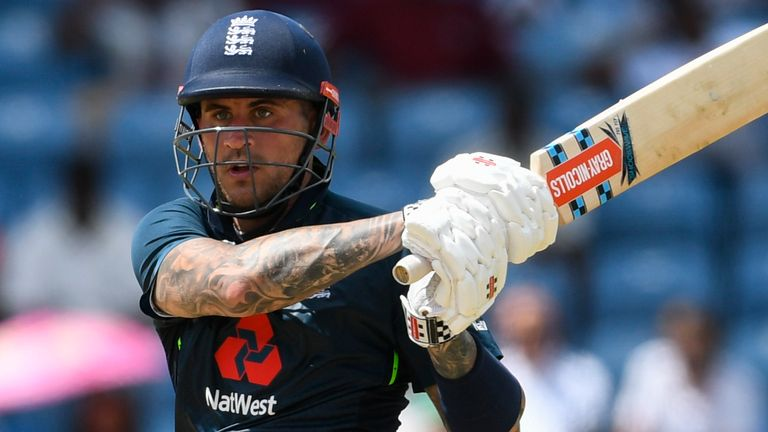 Hales has not played for England since March 2019