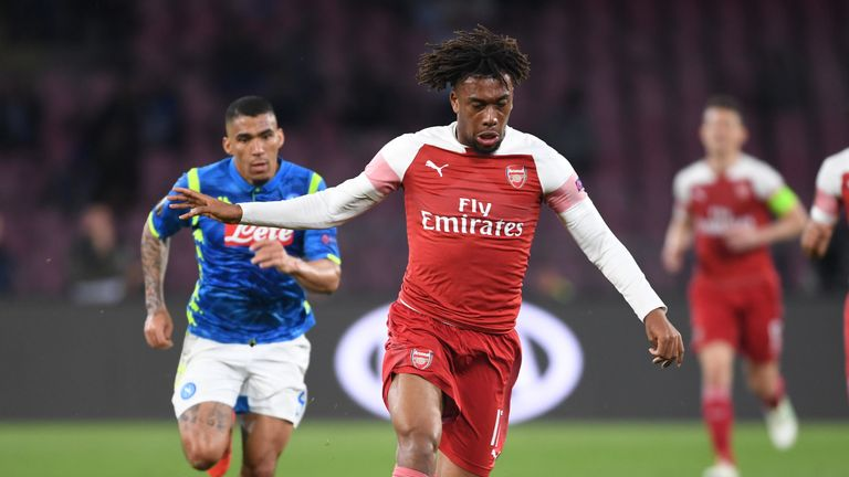 Alex Iwobi is looking to win his fourth trophy at Arsenal on May 29