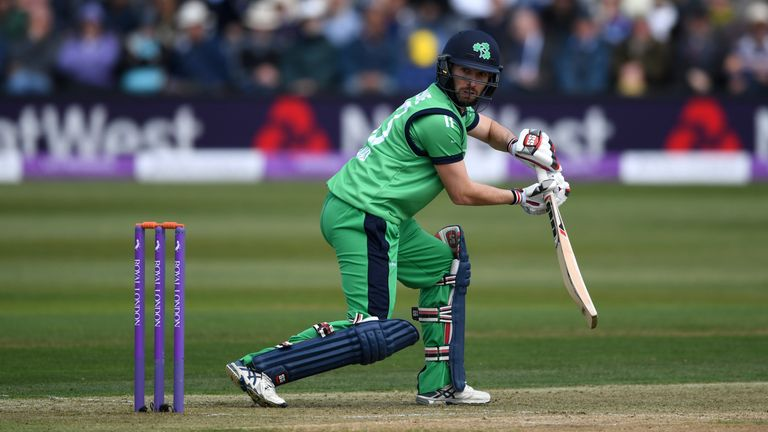 Andrew Balbirnie has taken over as Ireland's Test and ODI captain
