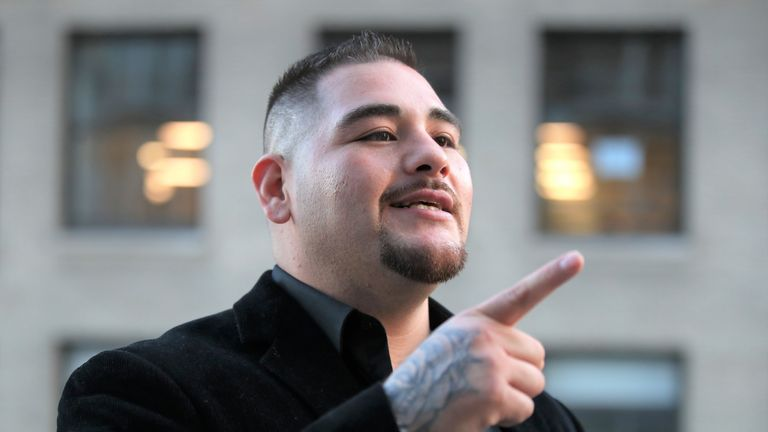 Andy Ruiz Jr is raring to go