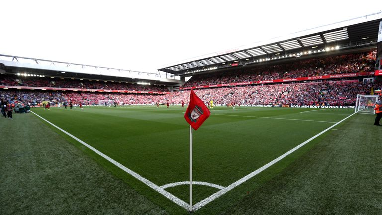 Huddersfield man banned for three years for 'despicable' Anfield incident
