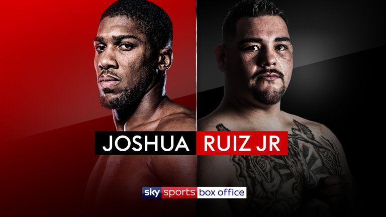 Joshua vs Ruiz Jr - SSBO Logo