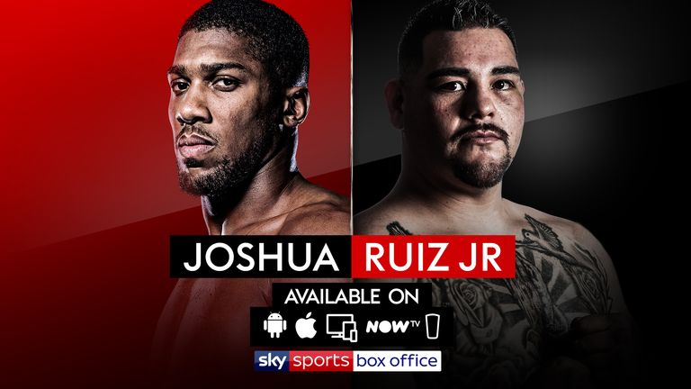 Anthony Joshua, Andy Ruiz Jr