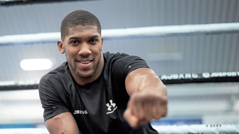 Anthony Joshua makes US debut on June 1, live on Sky Sports Box Office