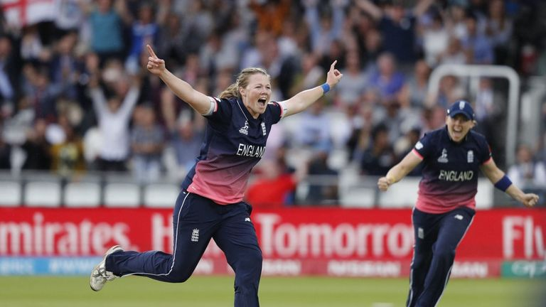 Anya Shrubsole and England are gearing up for the women's Ashes