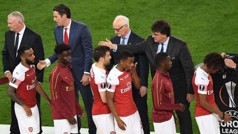 Unai Emery said that 'some players need to leave' after the defeat to Chelsea