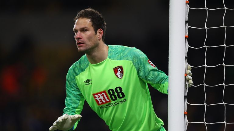 Asmir Begovic has been given the final week of the season off to spend time with his family
