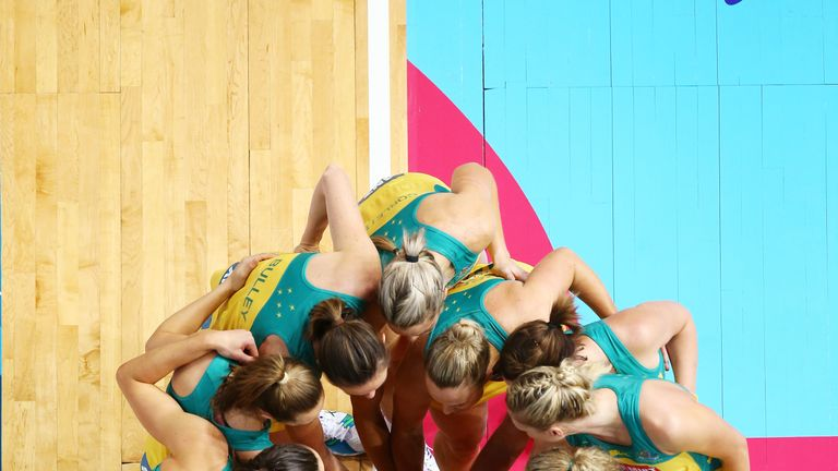 The Australian Diamonds have won 11 out of 14 World Cups