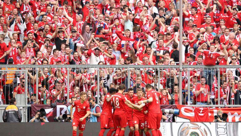 Kingsley Coman gave Bayern Munich an early lead