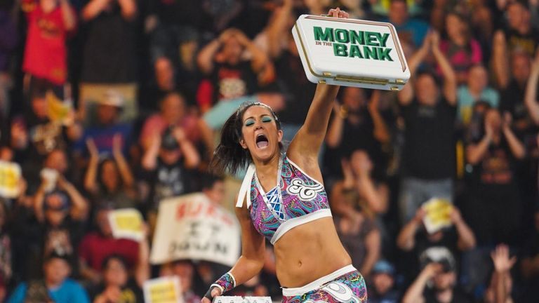 Bayley was a very popular winner of the Money In The Bank briefcase