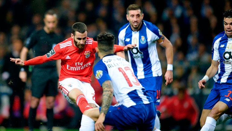 Benfica lead Porto by just two points heading into the final two games