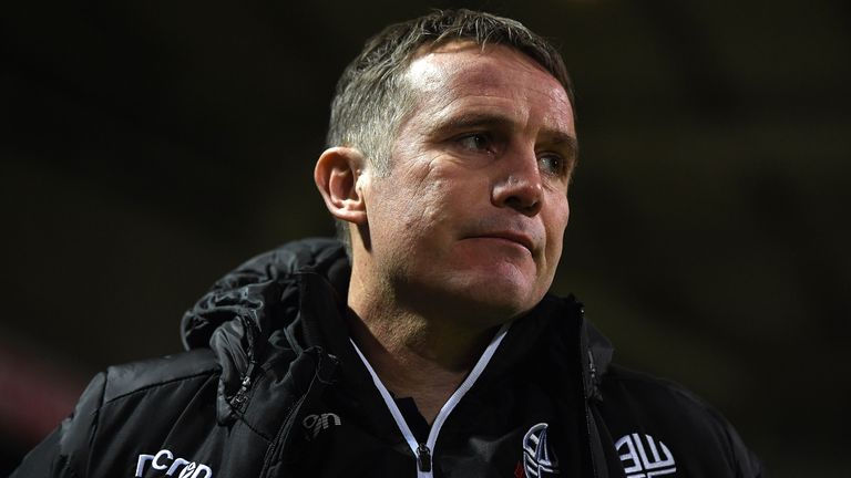 Bolton boss Phil Parkinson believes this season has been the toughest in his entire career.