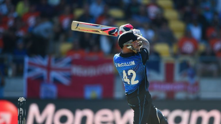 Brendon McCullum led New Zealand to the World Cup final in 2015