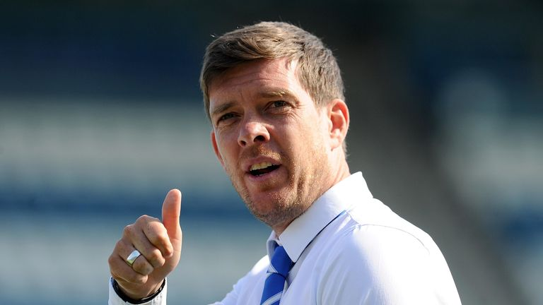 Darrell Clarke is the new manager of Walsall