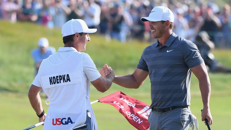 Brooks Koepka defended his title last year with a one-shot victory