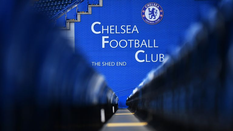 A view of Stamford Bridge