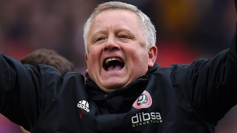 Wilder led Sheffield United to second place in the Championship last season