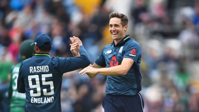 Chris Woakes, England, ODI vs Pakistan at Headingley