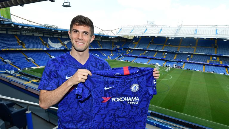 Christian Pulisic has joined Chelsea in a £57.6m deal