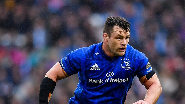 Cian Healy's impressive scrummaging and carrying stood out in his display