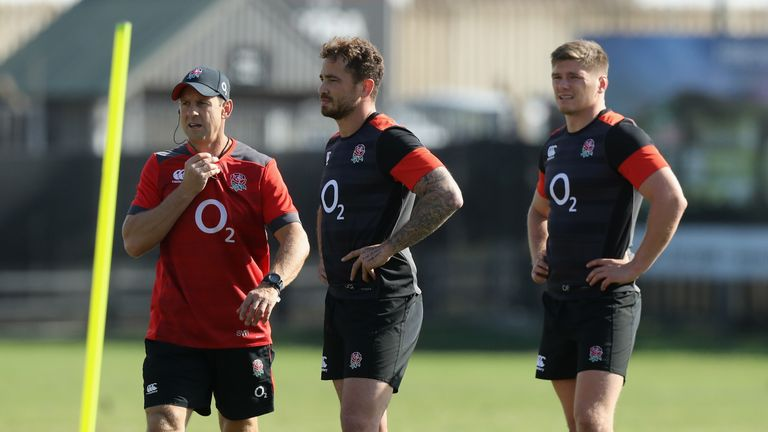 Cipriani and Farrell appeared in the same England team during a victorious third Test against the Boks last summer
