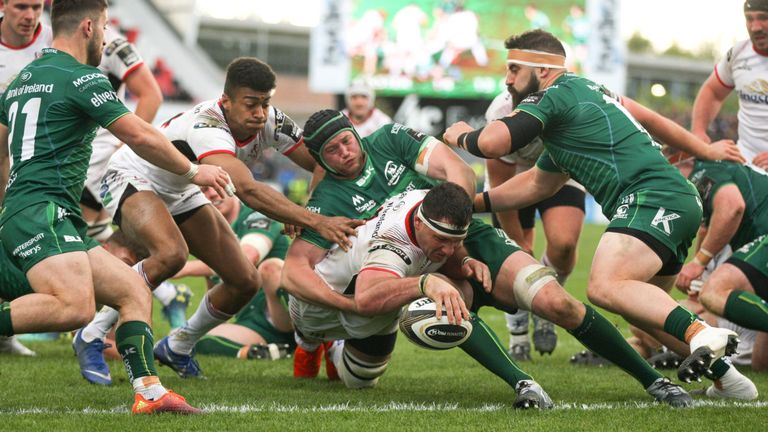 Marcell Coetzee's late try clinched victory for Ulster and a semi-final meeting to come with Glasgow