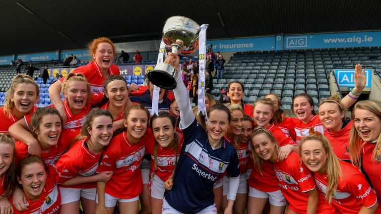 Cork won the league, beating Galway in the final