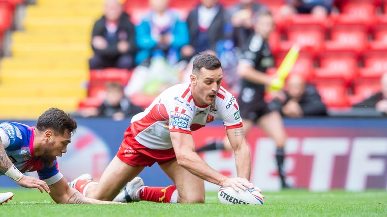 Craig Hall gave Hull KR hope with a converted try inside the final 10 minutes