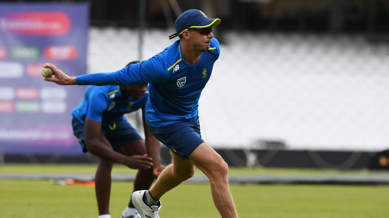 Dale Steyn is likely to remain out but is back in training after a shoulder injury