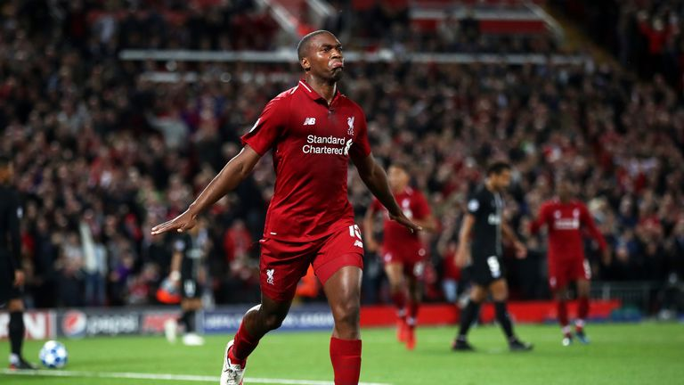 Daniel Sturridge made 18 appearances for Liverpool last season